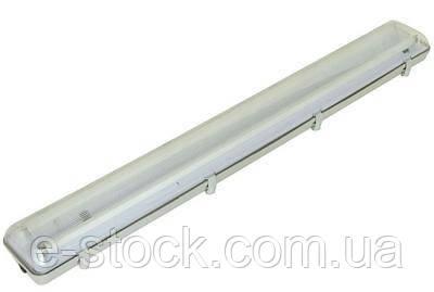 Люминесцентный светильник влагозащищенный ЛПП-04-2х58