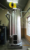 Теплогенератор твердотопливный воздухогрейный 500 кВт на отходах (щепе, опилках, лузге, шелухе, жмыхе, гранулах, пеллетах) с механизированной подачей