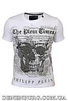 Футболка мужская PHILIPP PLEIN PP0909 белая S