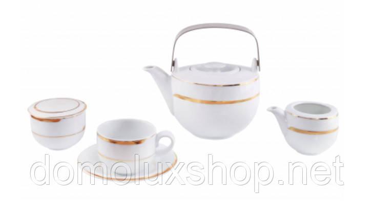 DPL Mooney Gold Набор чайный 17 предметов (000861)