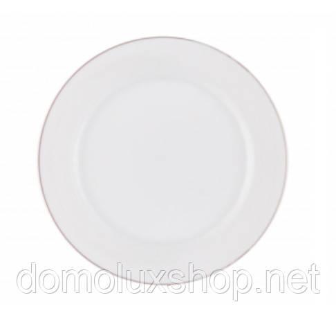 DPL Wave White Тарелка салатная 225 мм (000909)