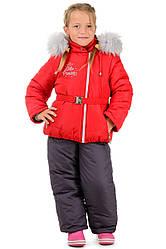 Детский зимний костюм для девочки от производителя 24-26