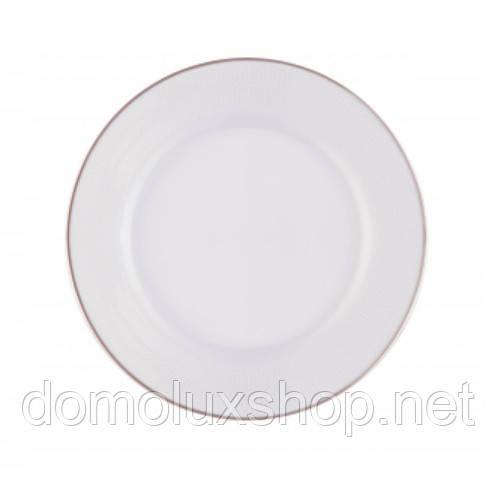 DPL Wave White Тарілка для хліба 180 мм (000911)