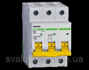 Автоматический выключатель NOARK Ex9B125 1P C16A