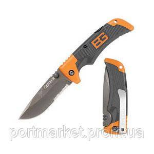 Складной нож Gerber Scout Bear Grylls с клипсoй 18 см +