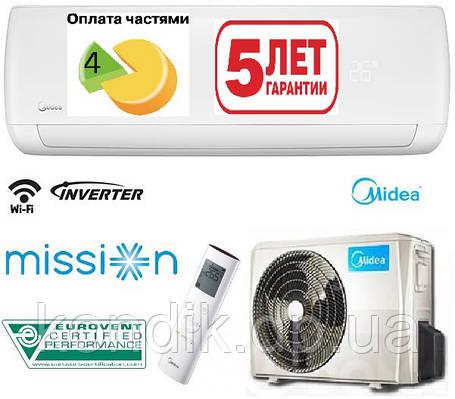 Кондиционер MIDEA MB-09N1D0-I/MB-09N1D0-O Mission Inverter, фото 2