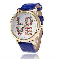 """Стильные женские часы """"LOVE"""" 7113614-1 (38433)"""