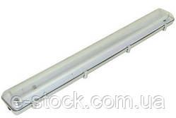 Люмінесцентний світильник вологозахищений ЛПП-04-2х36