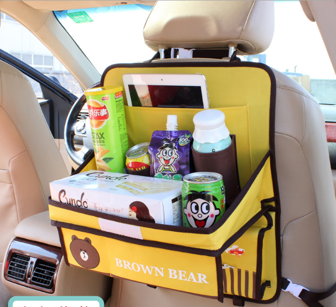 Столик-органайзер в автомобиль детский Brown Bear (04149)