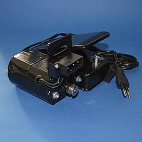 Комплект - двигатель (100 Вт) и педаль управления для швейной машины