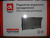 Радиатор основной на Daewoo lanos 1.5 без кондиционера