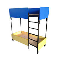 Детские двухярусные кровати от фабрики мебели, металл и ДСП
