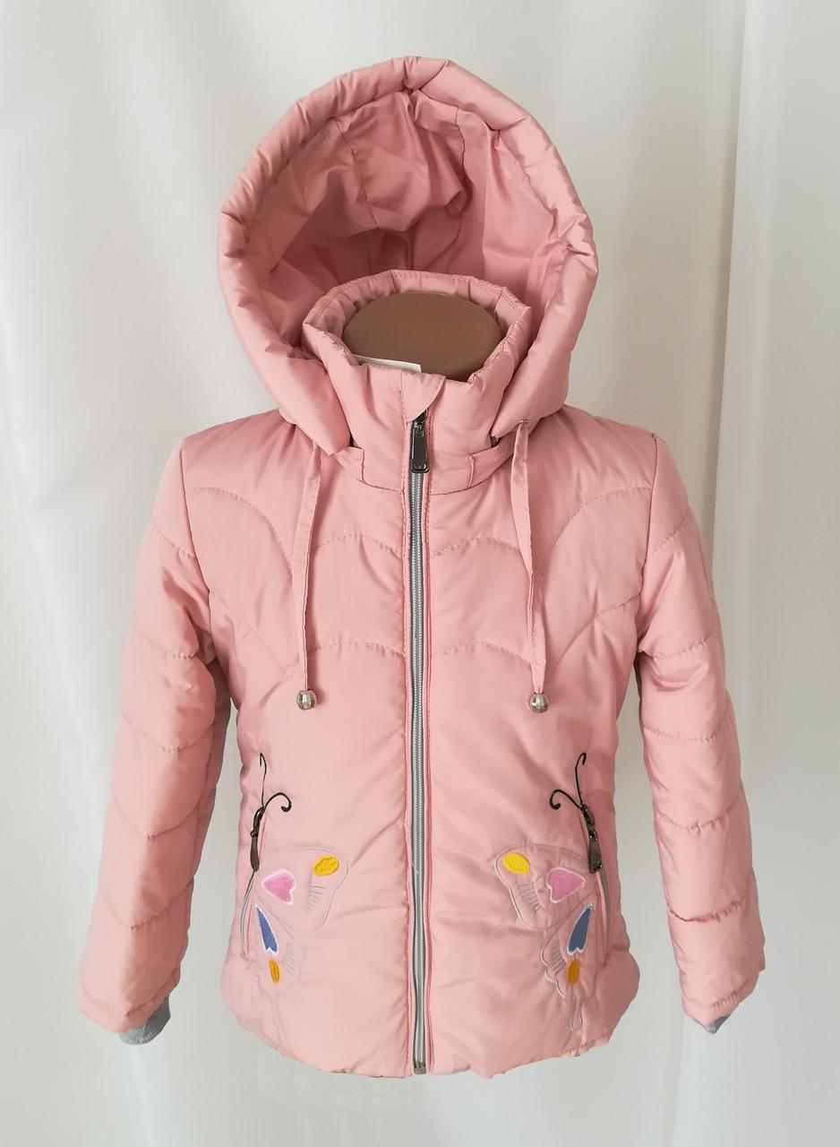 Детские осенние куртки для девочек 20-28