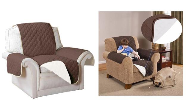 Двостороннє покривало для крісла CouchCoat