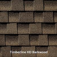 Битумная черепица GAF (ГАФ) Timberline HD Barkwood
