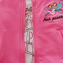 Спортивный костюм тройка с пантерой для девочки, фото 3