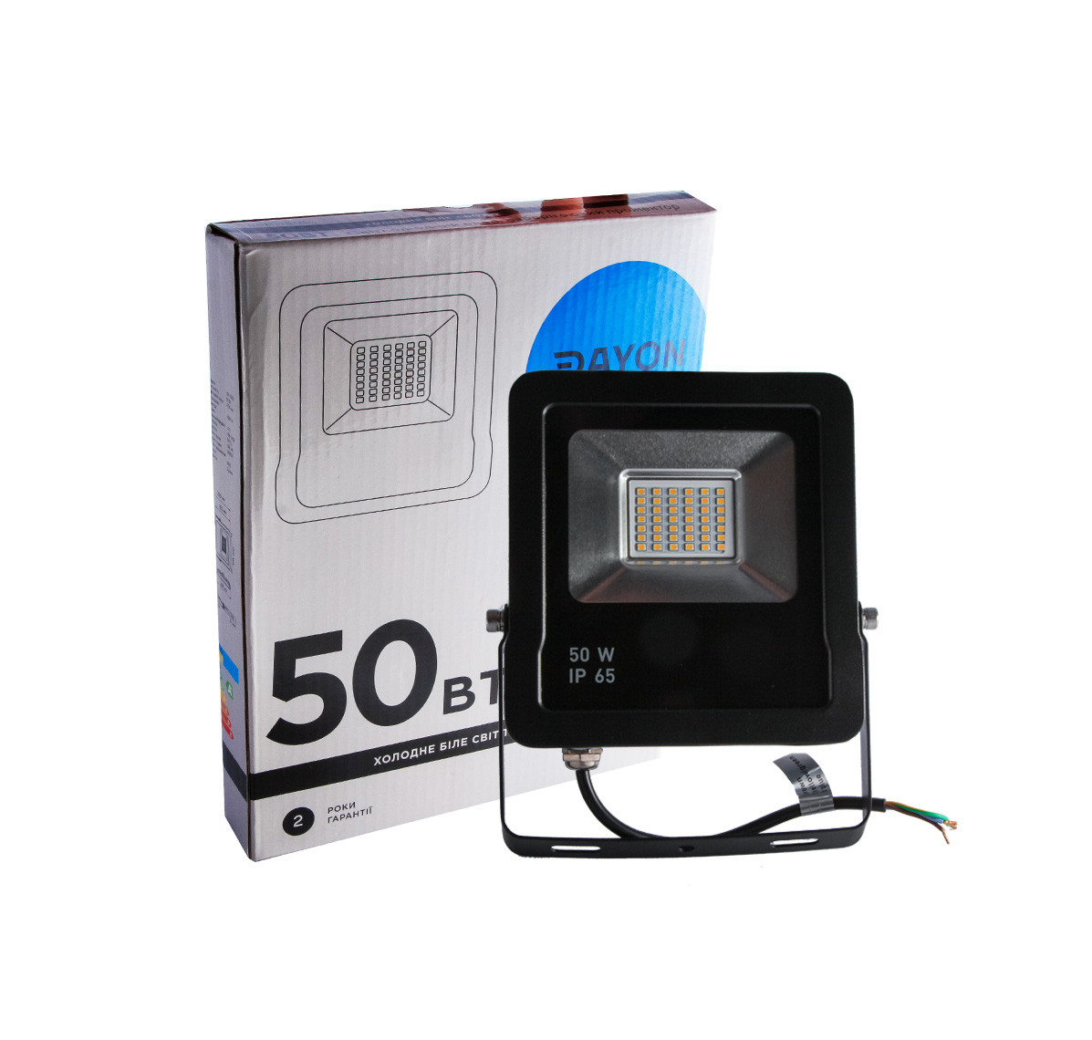 Прожектор светодиодный уличный DAYON LSR-1505 50W 6500K IP65