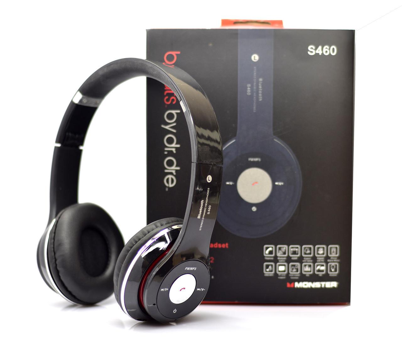 Беспроводные Bluetooth наушники S460