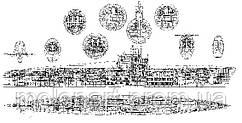Изображение Подводная лодка чертеж