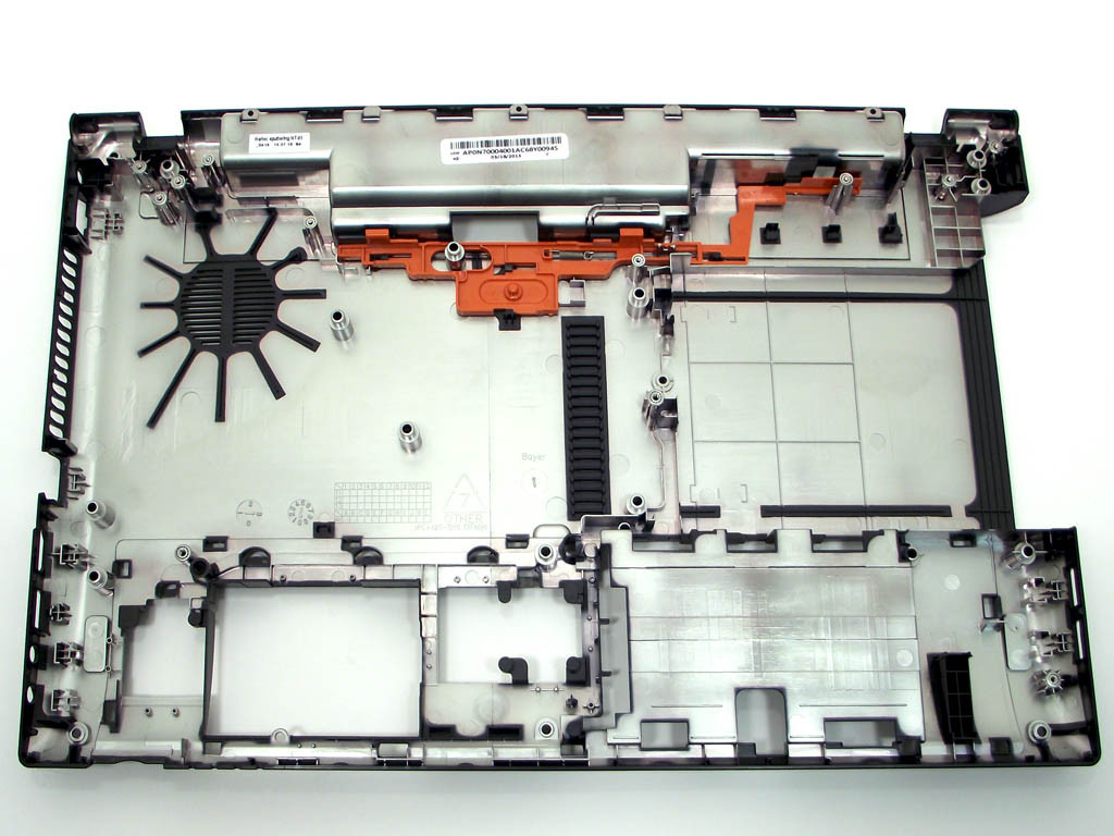 Низ Acer Aspire V3-531 (нижняя крышка (корыто)). Оригинальная новая!