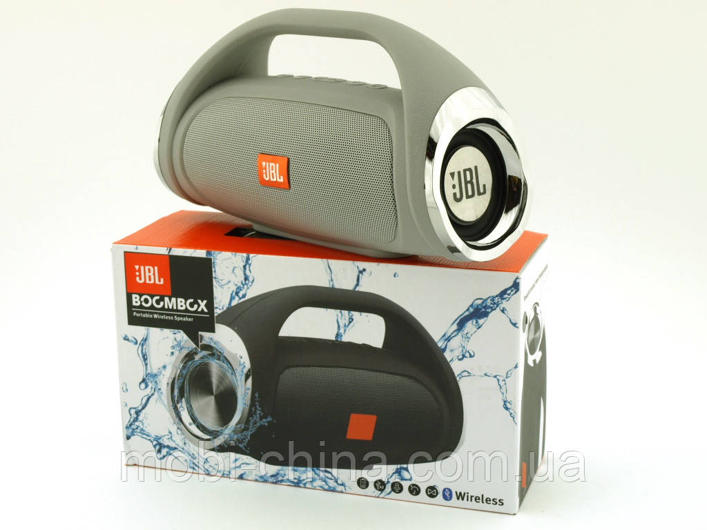 JBL Boombox mini 8W копия, k836 889 портативная колонка с Bluetooth FM MP3, серая