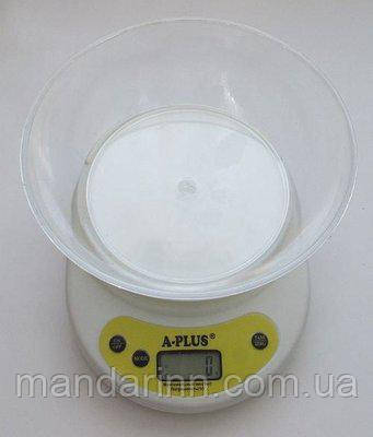 Кухонные весы с чашей A-Plus 1656