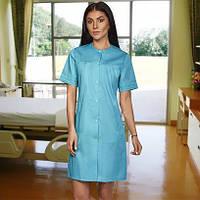 """Жіночий  медичний   халат  """"Еріка""""   (коттон), фото 1"""
