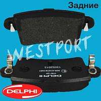 Тормозные колодки Delphi Renault MASTER Opel MOVANO Nissan INTERSTAR Задние Дисковые Без датчика износа LP1747, фото 1
