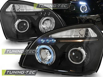 Передние фары тюнинг оптика Hyundai Tucson