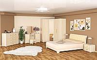 Токио набор для спальни №2 (Мебель-Сервис)  ясень светлый