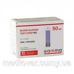 Тест-полоски Gamma MS 50 шт.