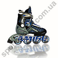 Роликовые коньки AMIGO Power Flex (38-41)