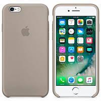 Чехол Apple Silicon Case для iPhone 6/6S Pebble