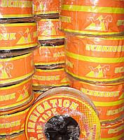 Лента капельного орошения, полива с жёстким эмиттером UCHKUDUK DRIP TAPE 7,2 Mils 0,18 мм,30см.1,4л/ч 500 м, фото 1