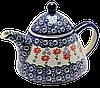 Заварочный керамический чайник 0,9L Flowerbed
