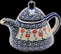 Заварочный керамический чайник 0,9L Flowerbed, фото 1