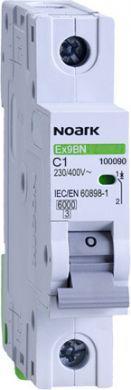 Автоматический выключатель NOARK Ex9BN 6 kA 1P C1