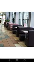 Перетяжка мягкой мебели кафе, ресторанов., фото 1
