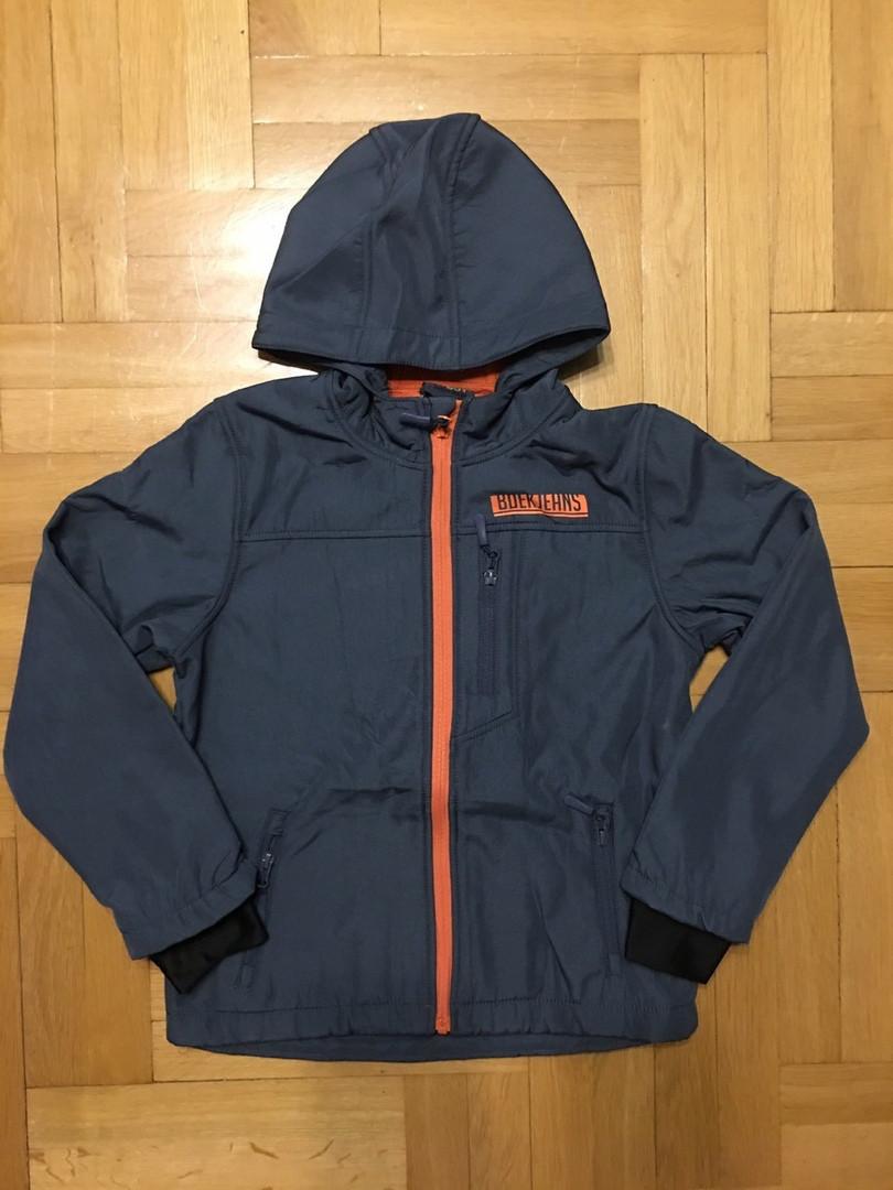Демисезонная термо куртка на флисовой подкладке 104 см