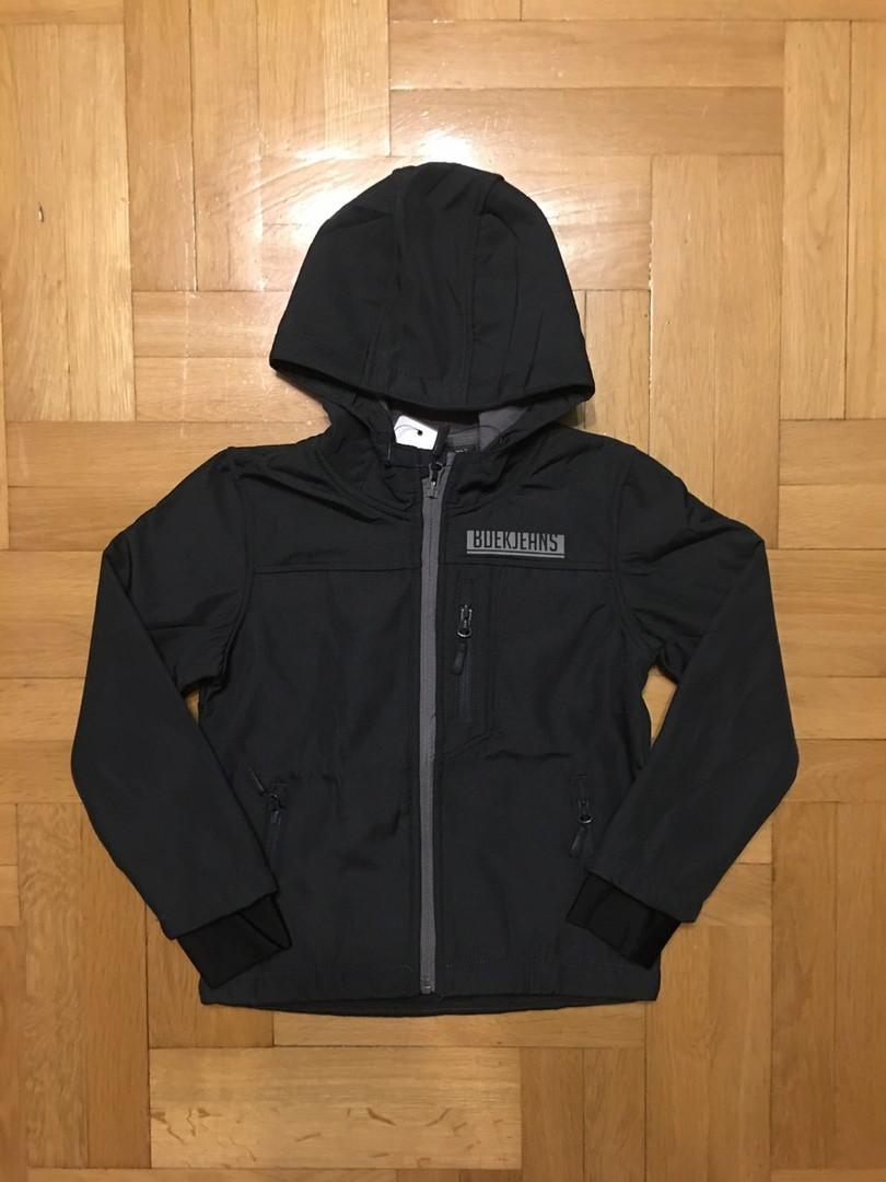 Демисезонная термо куртка на флисовой подкладке  122 см