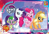 "Пазли ТМ ""G-Toys"" із серії ""My little Pony"" Маленька поні, 126 елементів, MLP015"