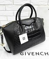 Женская сумка в стиле GIVENCHY ANTIGONA CROCO 2 (2930), фото 1