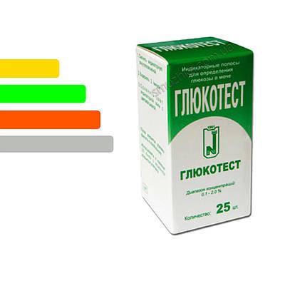 Тест полоски Глюкотест #25, фото 2