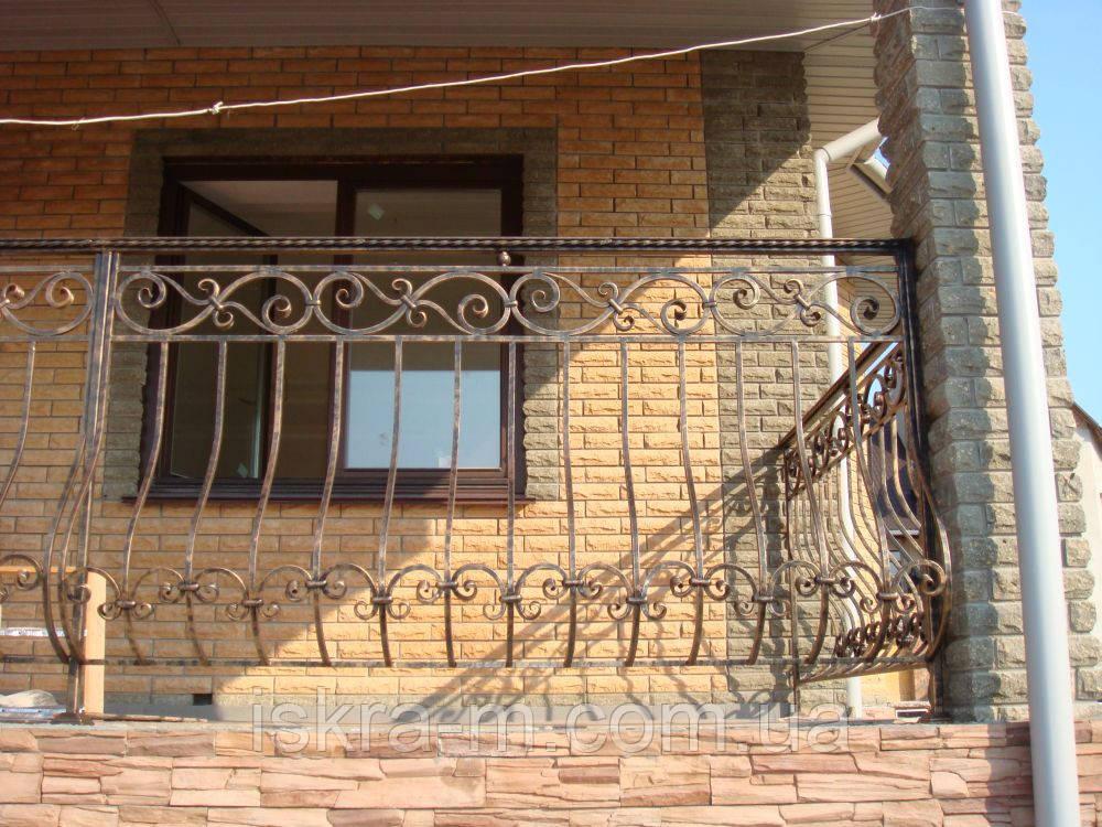 Балконное ограждение - ИСКРА-М в Киеве
