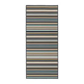 IKEA, KARBAK, Ковер безворсовый, для дома/улицы, разноцветный, 80x200 см (00319475)(003.194.75) КАРБАК ИКЕА