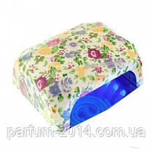 УФ лампа для сушки ногтей Lady Victory L-Hybrid-2A (LED+CCFL) 36W (цветы)