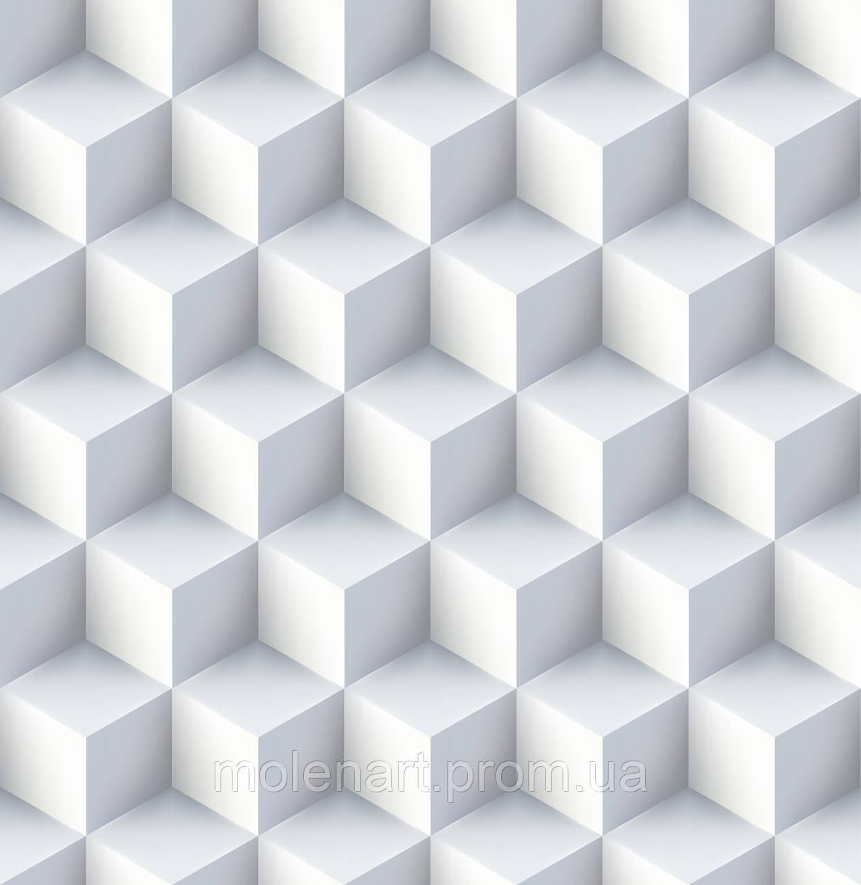 Абстракция рисунок кубы