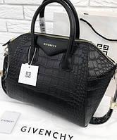 Женская сумка в стиле GIVENCHY ANTIGONA CROCO 1 (2940), фото 1