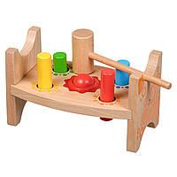 Развивающая и обучающая игрушка - Стучалка шарики и гвозди