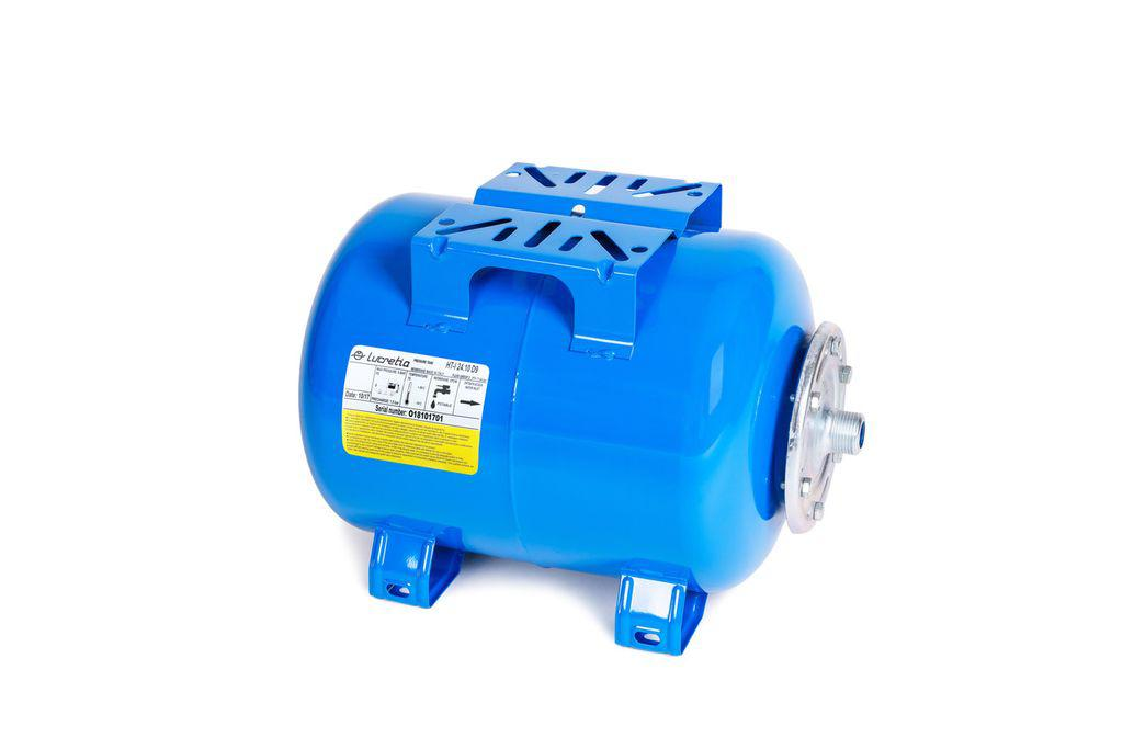 Гідроакумулятор горизонтальний серії HT - L Lucretia, 100 л.